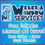Weber's Window Services