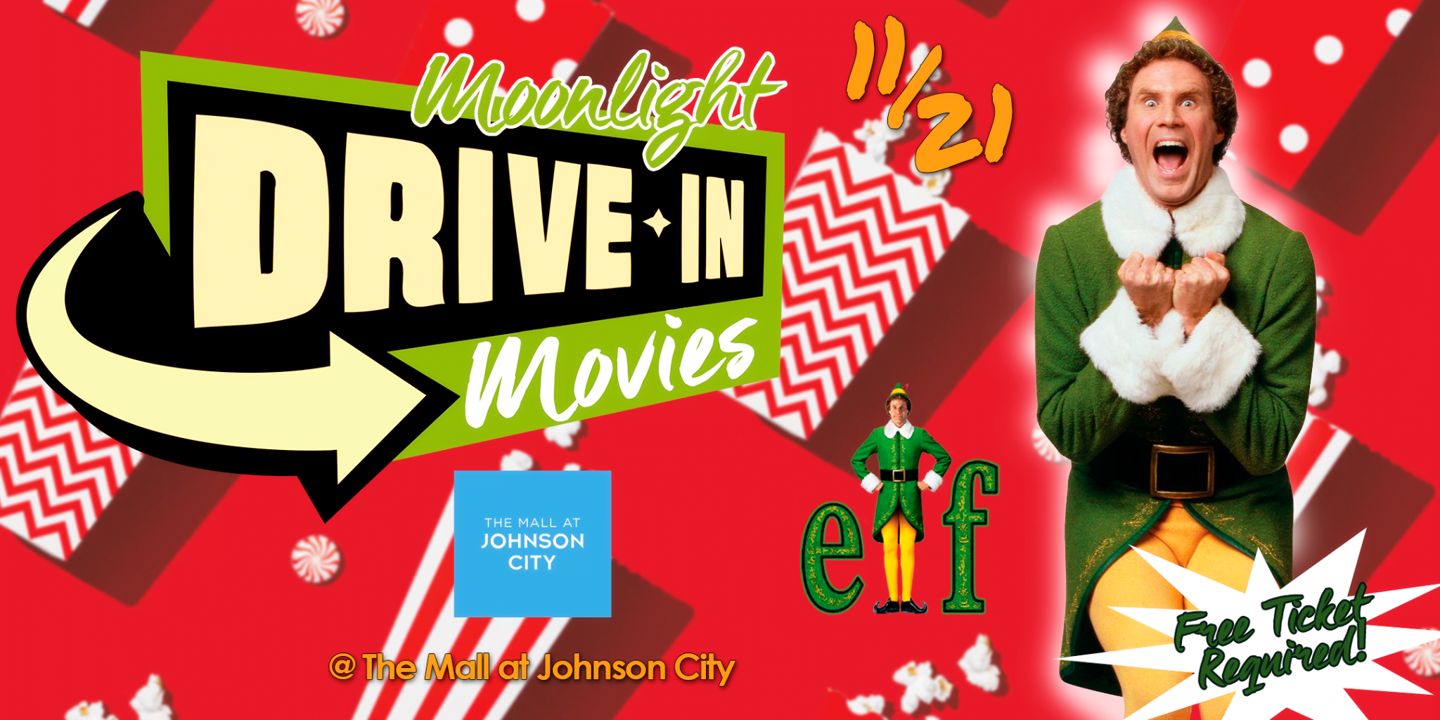 Moonlight Drive-In Movies at The Mall at Johnson City 1