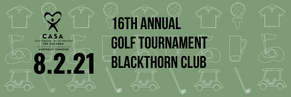 16th Annual CASA of Northeast Tennessee Golf Tournament 1