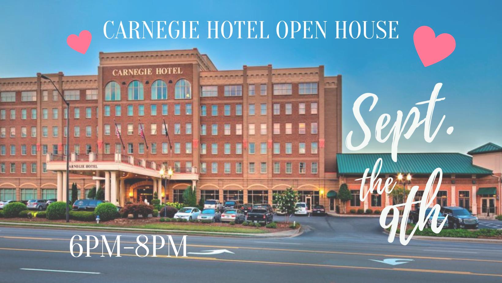 Carnegie Hotel Open House w/StudioWed Tri-Cities 1