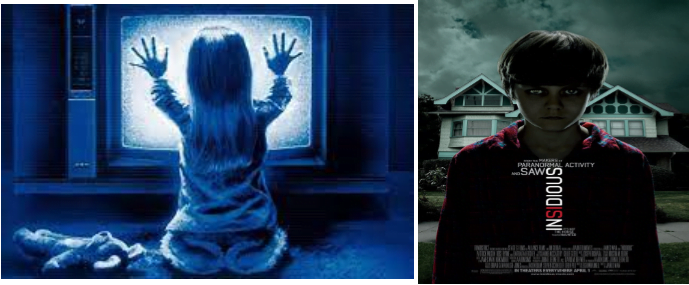 Cinema Under The Stars Double Feature:Poltergeist (PG) & Insidious (PG 13) 1